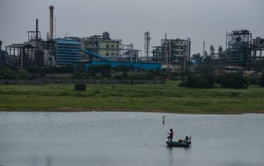 Some residents still fish in lakes adjacent to pharmaceutical factories, and to graze cattle nearby.