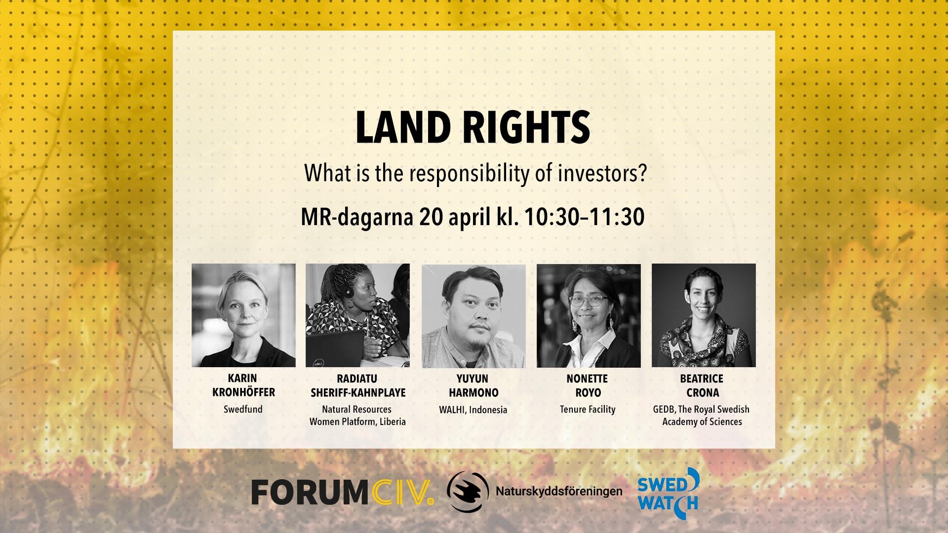 Land rights-datum